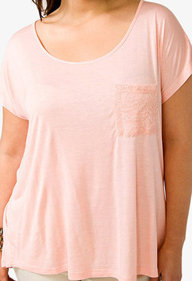Forever 21 Roof Party-Perfect Lace Tee