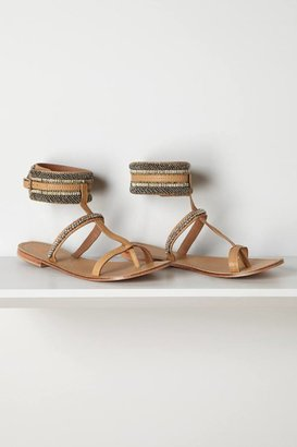 Anthropologie Pincuff Sandals
