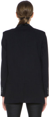 Helmut Lang Noa Suiting Blazer in Black