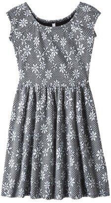 Xhilaration Junior's Textured Knit Dress - Daisy