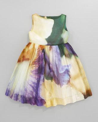 Oscar de la Renta Iris Party Dress