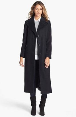 Calvin Klein Long Wool Blend Coat