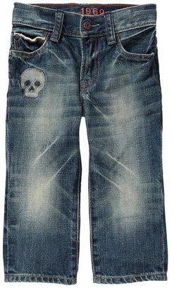 Gap Skull patch original fit jeans