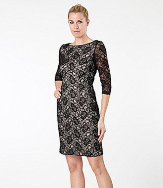 JS Collections Royalty-Inspired Lace Dress