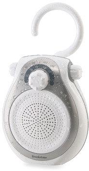Bed Bath & Beyond Brookstone Shower Tunes Water-Resistant AM/FM Radio