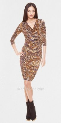 La Femme Julian Chang Olivia Quarter Sleeve Party Dresses