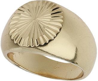 Topshop Round signet ring