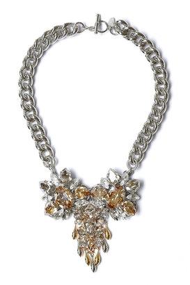 Anton Heunis Big Crystal Centre Piece Necklace