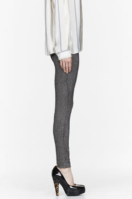 Stella McCartney Black Tweed stretch Trousers
