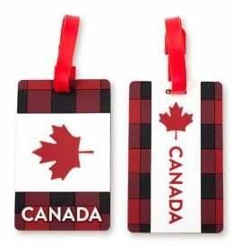 Heys Two-Piece Canada Luggage Tag Set