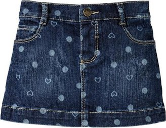 Old Navy Faded-Print Denim Minis for Baby