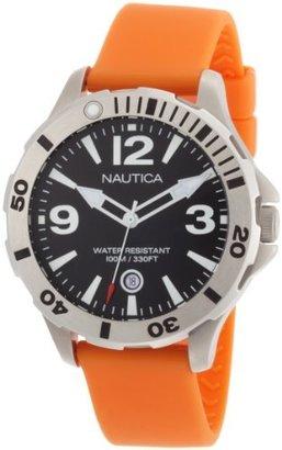 Nautica Men's N15544G BFD 101 Black Dial Diver Watch Box Set