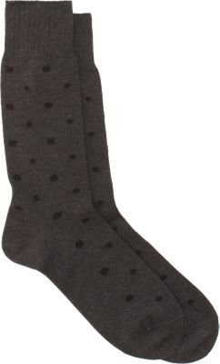 Barneys New York Dotted Mid-Calf Socks