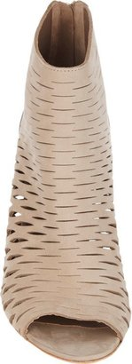Barneys New York Cutout Ella Ankle Boots-Nude