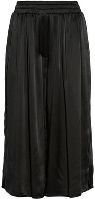 ADAM by Adam Lippes Silk-satin culottes
