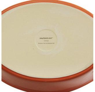 Rachael Ray 9.75x15.75-in. Oval Serveware Platter, Eggplant