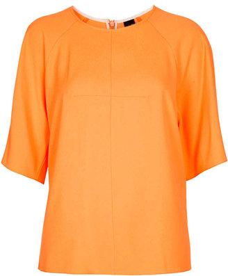 Topshop Crepe T-Shirt By Boutique