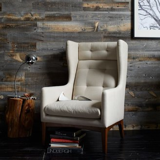 west elm James Harrison Wing Chair - Fabric