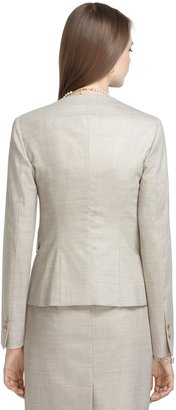 Brooks Brothers Two-Button Bird's-Eye Jacket