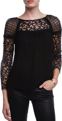 Twelfth St. By Cynthia Vincent BY CYNTHIA VINCENT Lace Blouse