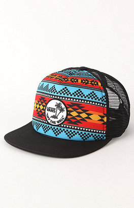 Vans Navajo Palm Trucker Hat