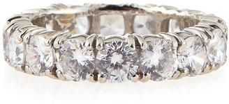 FANTASIA 4.25mm Cubic Zirconia Eternity Band Ring