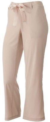 Dana Buchman straight-leg crop pants