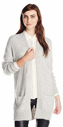 French Connection Women's Winter Fluff Knits BLTD Long Sleeve Cardigan,(Manufacturer Size:Small)
