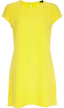 River Island Womens Yellow swing dress