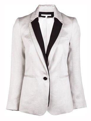 Veronica Beard Jacket w/ tuxedo dickey