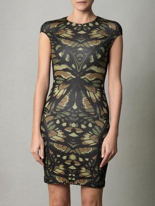 McQ Camo-print jersey dress