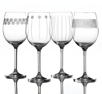 Mikasa LOWEST PRICE OF THE FALL SEASON! Wine Glasses, Set of 4 Cheers Too White Wine
