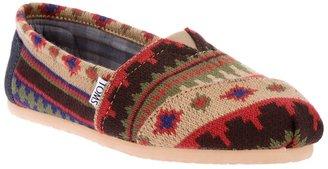 Toms 'Kilim' slip on shoe