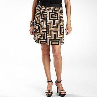 JCPenney Worthington® Pleated Print Skirt - Petite