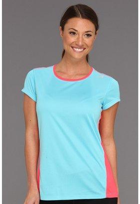 New Balance Get Running Short Sleeve (Pink Tint) - Apparel