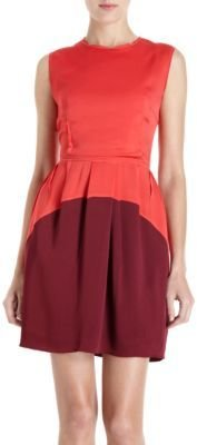 O'2nd Sleeveless Colorblocked Dress