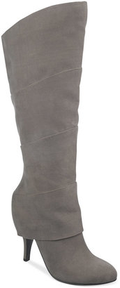 Fergalicious Pledge Cuffed Mid Shaft Boots