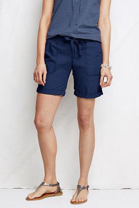 Lands' End Women's Regular Market Shorts