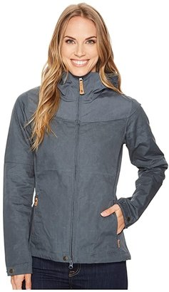 Fjallraven Stina Jacket (Dark Navy/Dark Navy) Women's Jacket