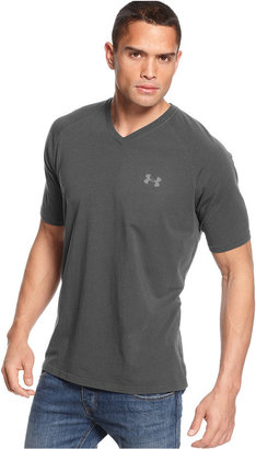 Under Armour T-Shirt, Charged V-Neck Performance T-Shirt