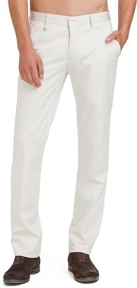 GUESS by Marciano Stone White Suit Pant – Slim Fit