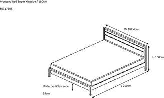 John Lewis & Partners Montreal Bed Frame, Super King Size, Oak