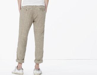 James Perse Linen Utility Pant