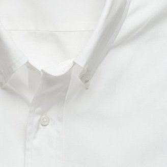 J.Crew Solid button-down tailored-fit dress shirt