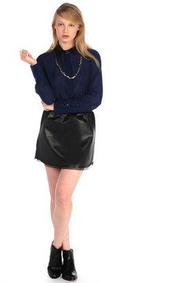 House Of Harlow Pearl Skirt Black