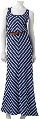 Trixxi striped maxi dress - juniors