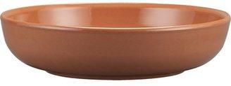 Crate & Barrel Terra Cotta Serving Bowl.