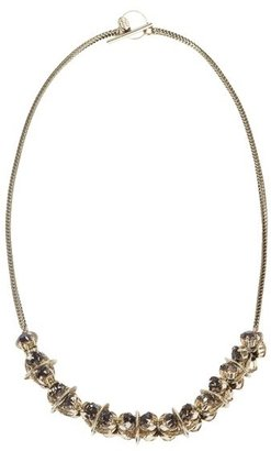 Aris Geldis Taupe Crystal Necklace