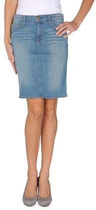 Current/Elliott Denim skirt