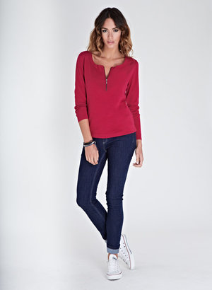 Isabella Oliver The Zip Sweater